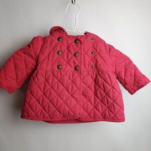 Baby Gap Quilted Pea Coat 6-12 MO